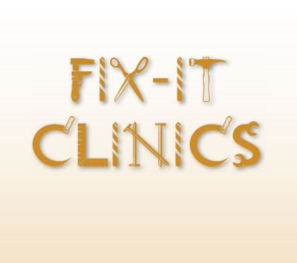 Fix-It Clinics written out of hand tools