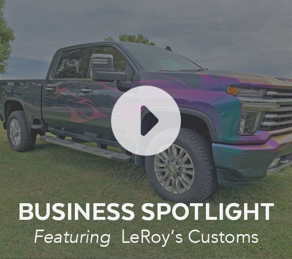 Business Spotlight LeRoy's Customs