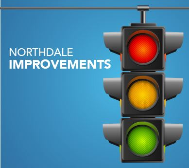 New Traffic Lights to Northdale Blvd.