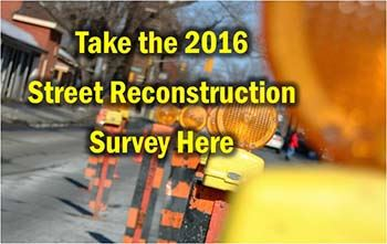 Street Reconstruction Survey