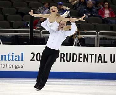 Nica and Danny Pairs Skaters