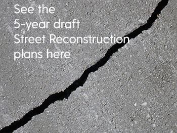 5 year street recon draft plans