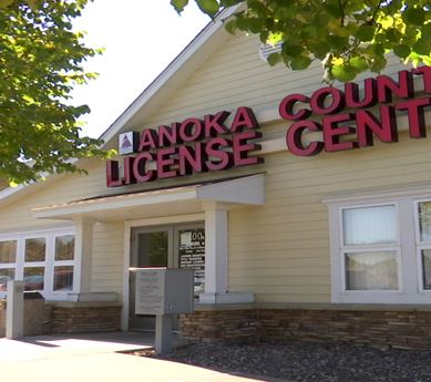 Photo of Anoka County License Center