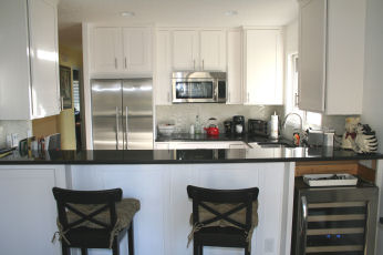 After - Kitchen with island